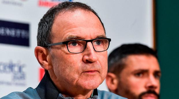 Martin O'Neill's Republic of Ireland are currently ranked 34th in the world. Photo: David Maher/Sportsfile
