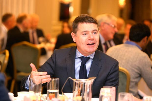 Public Expenditure Minister Paschal Donohoe. Picture: MacInnes