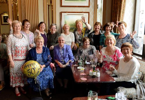 Pat Leavy tracked down the nurses who began their training 50 years ago for a get-together at Wynn's Hotel