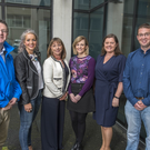Gerry Murphy, VM Ware, Rachel O'Brien of McAfee, Maire Hunt, Software Skillnet, Grainne Hegarty, Crest Solutions Hazel Sullivan, Mc Kesson, Ronan Lehane of OVH