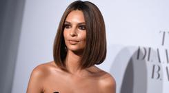 Emily Ratajkowski attends Rihanna's 3rd Annual Diamond Ball benefitting The Clara Lionel Foundation at Cipriani Wall Street on September 14, 2017 in New York City. / AFP PHOTO / ANGELA WEISS (Photo credit: ANGELA WEISS/AFP/Getty Images)
