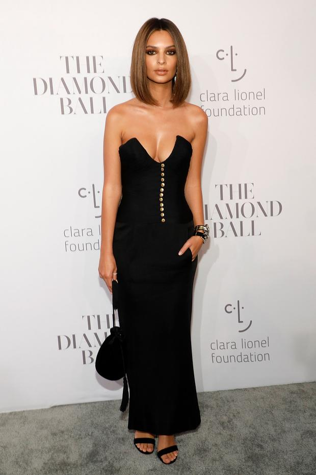 Emily Ratajkowski attends the 3rd Annual Diamond Ball at Cipriani Wall Street on September 14, 2017 in New York City. (Photo by Taylor Hill/FilmMagic)