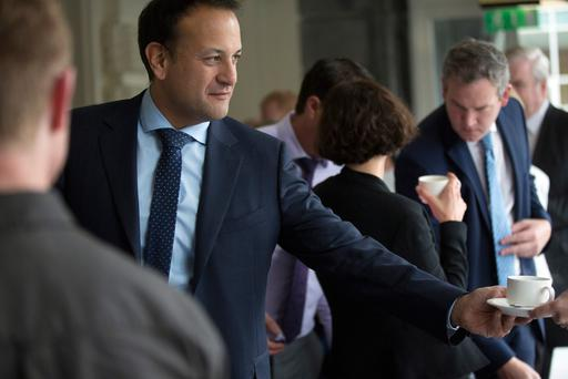 Taoiseach Leo Varadkar on the final day of the Fine Gael Parliamentary Party Meeting in the Minella Hotel, Clonmel, Co. Tipperary. Pic: Mark Condren