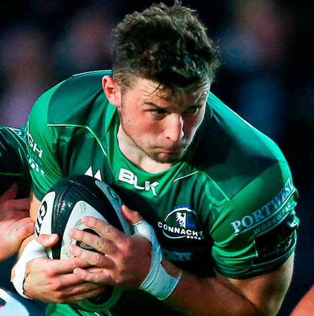Connacht's Eoghan Masterson. Photo by Chris Fairweather/Sportsfile