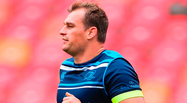 Rhys Ruddock during the Leinster Captain's Run at Nelson Mandela Bay Stadium in Port Elizabeth. Photo: Sportsfile