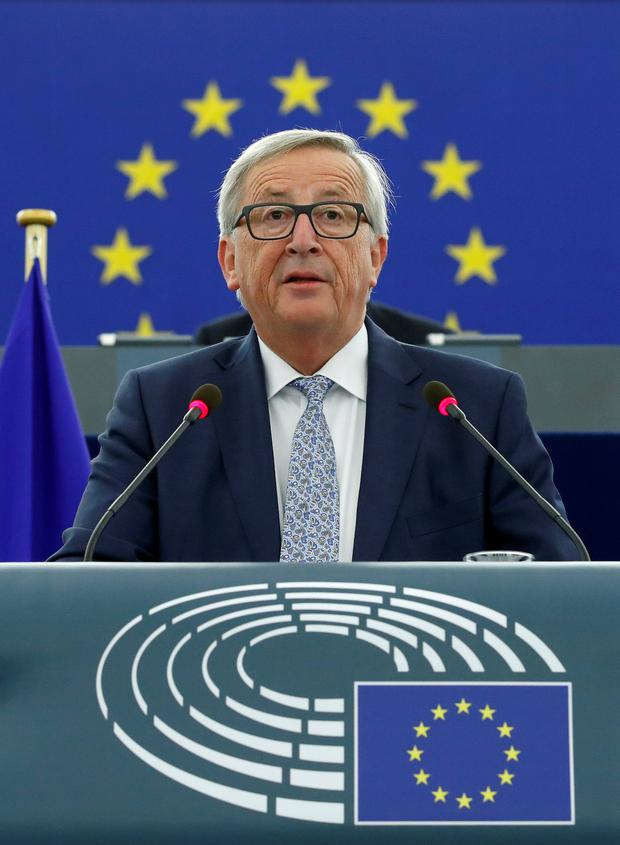 European Commission President Jean-Claude Juncker Picture: Reuters