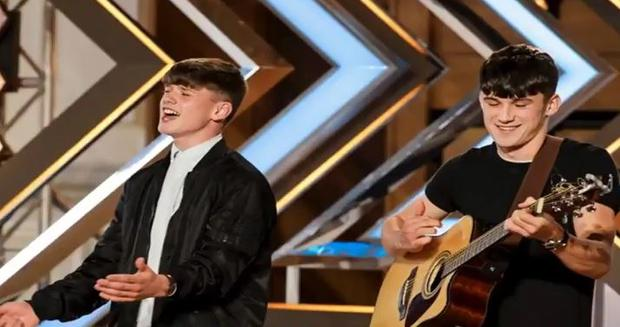 Sean and Conor on the X Factor