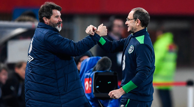 Martin O'Neill and Roy Keane: 'O'Neill and his assistant are one of the best paid management teams in European football'. Photo: Sportsfile