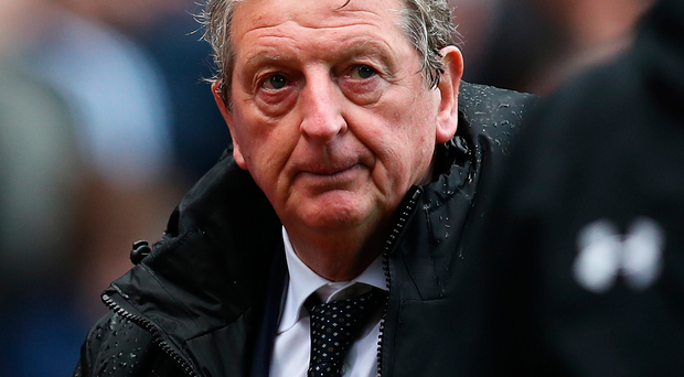 Roy Hodgson looks on after his first game in charge of Crystal Palace ended in defeat. Photo: Getty Images