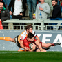 'One try in Cork the previous week was a decent start to the PRO14 for Alex Wooton. Adding another four in Limerick was stellar stuff, even against dodgy opposition in the Cheetahs' Photo: Sportsfile