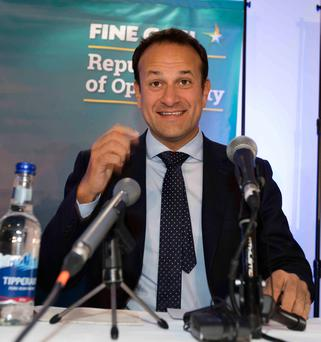 LEO VARADKAR: Poked fun at some of his party colleagues in party