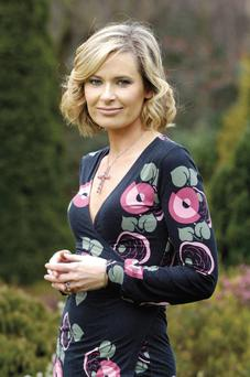 TIME FOR CHANGE? Sharon Ni Bheolain is believed to be looking for a move behind the camera