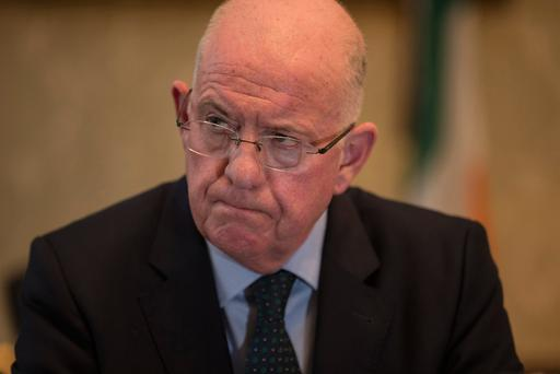 Minister for Justice Charlie Flanagan Picture: Mark Condren