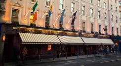 'Pat Burke, chief executive of Mercantile, told the Sunday Independent that the biggest element of the plan is a €20m expansion of the Mercantile Hotel (pictured)'