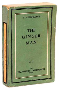 WORTH ITS WEIGHT: A first edition copy of 'The Ginger Man', published in 1955 by the Olympia Press in Paris