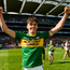 David Clifford of Kerry celebrates after the Electric Ireland GAA Football All-Ireland Minor Championship Final match between Kerry and Derry at Croke Park in Dublin. Photo by Piaras Ó Mídheach/Sportsfile