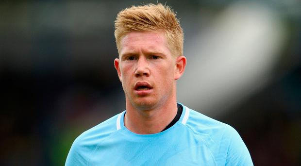 De Bruyne still has four years to run on the six-year contract. Photo by Ian Walton/Getty Images