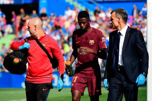 The 20-year-old will undergo surgery on the injury and could be sidelined until next year as a result. Photo: Getty Images