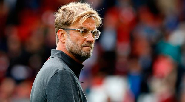 Klopp feels constant criticism of his defence has created a selffulfilling prophecy. Photo credit: Martin Rickett/PA Wire.
