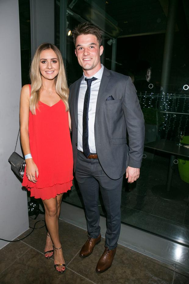 Eric Lowndes and Caroline Glynn at the Gibson for the All ireland Winners Banquet
