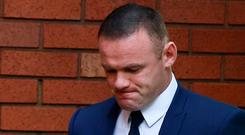 Wayne Rooney, Everton striker and former England captain arrives at Stockport Magistrates court, Stockport, Britain September 18, 2017. REUTERS/Andrew Yates