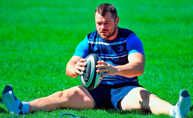 Cian Healy during Leinster Rugby Squad Training at Bishops in Cape Town, South Africa. Photo by Grant Pritcher/Sportsfile