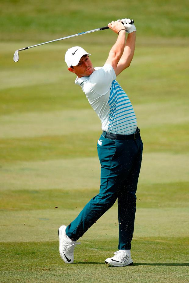 """""""I am looking forward to playing my first British Masters for a while,"""" McIlroy said. Photo: Getty Images"""