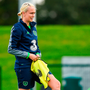 Stephanie Roche admits the pressure is on the Ireland team in their derby match against Northern Ireland in tonight's World Cup qualifier. Photo: Sportsfile