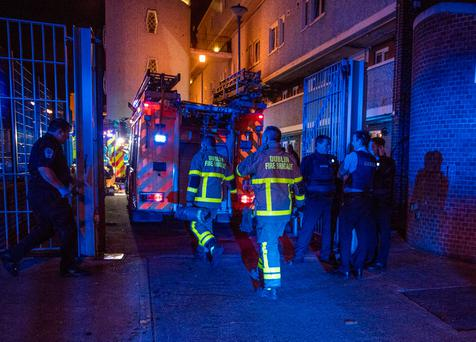 Woman, three children injured in Dublin fire