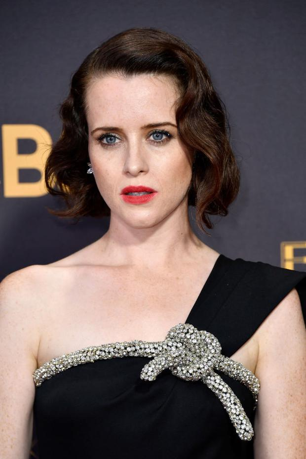 LOS ANGELES, CA - SEPTEMBER 17: Actor Claire Foy attends the 69th Annual Primetime Emmy Awards at Microsoft Theater on September 17, 2017 in Los Angeles, California. (Photo by Frazer Harrison/Getty Images)