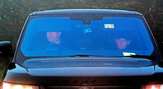 Wayne Rooney is driven in to Everton's Finch Farm Training Ground, after being banned from driving for two years and ordered to perform 100 hours of unpaid work as part of a 12-month community order. PRESS ASSOCIATION Photo. Picture date: Tuesday September 19, 2017. Photo credit should read: Peter Byrne/PA Wire