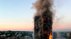 The fire at Grenfell Tower in west London