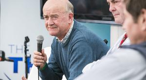 Robin Talbot, Beef Farmer, at the Ploughing Championships.