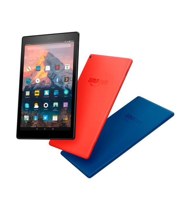 New Fire HD 10 tablet that will go on sale on October 11 Credit: Amazon/PA Wire