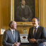 XL Group CEO Mike McGavick and An Taoiseach Leo Varadkar