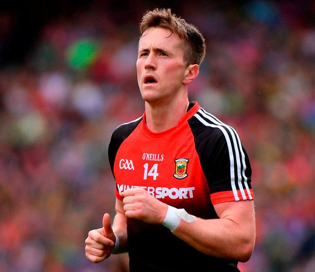 Mayo's Cillian O'Connor. Photo: Ramsey Cardy/Sportsfile