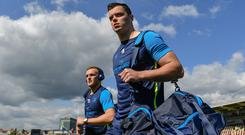 Leinster's James Ryan is one of six graduates from St Michael's to have captained the Ireland U-20s in recent seasons. Photo: Ramsey Cardy/Sportsfile