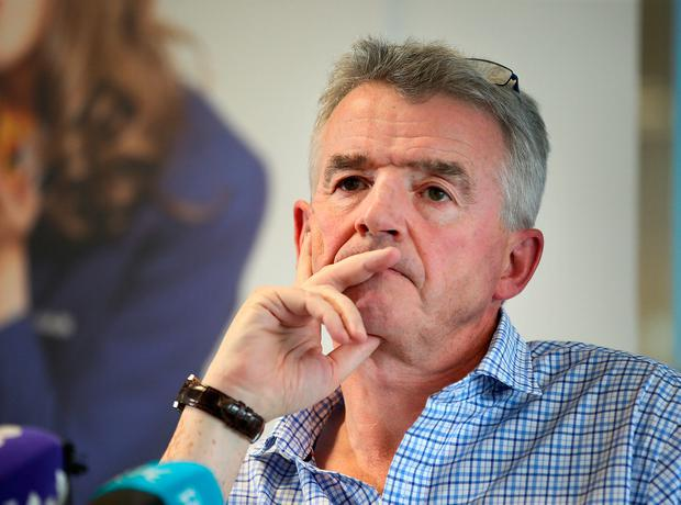 Ryanair chief Michael O'Leary. Photo: Frank McGrath