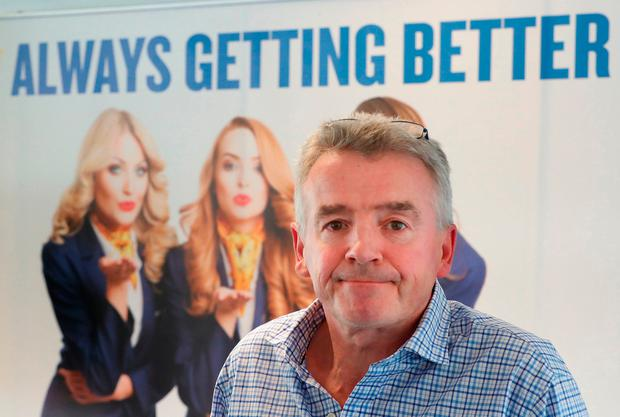 You're grounded: Ryanair boss Michael O'Leary has admitted the cancellation of flights due to pilot holidays is 'a mess'. Photo: PA