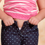 One in four children in Ireland is overweight or obese. Stock photo