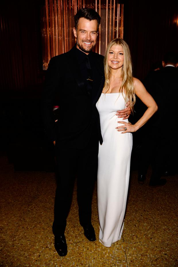 Fergie Duhamel and Josh Duhamel attend the amfAR Inspiration Gala New York 2014 at The Plaza Hotel on June 10, 2014 in New York City. (Photo by Dimitrios Kambouris/Getty Images)