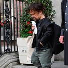 Game of Thrones actor Peter Dinklage seen leaving The Merrion Hotel