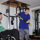 Rob O'Byrne: 'I built a small home gym, which is fully wheelchair accessible. I want to give people with disabilities access to a personal trainer – someone who understands where they are coming from'