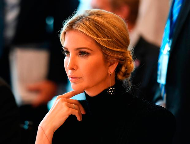 Ivanka Trump attends the event