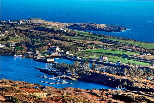 The winning ticket was sold on Bere Island