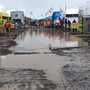 Torrential rain hits the Ploughing Championships