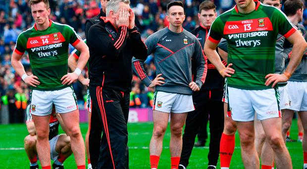 Mayo manager Stephen Rochford following his side's defeat