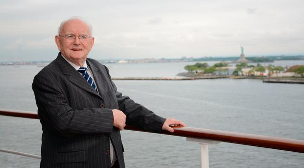 Jimmy Magee in New York