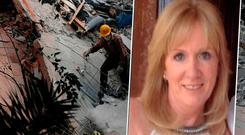 Carol Anne Reidy felt her house 'jump up and down'
