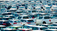 An analysis by the 'Financial Times' shows European car manufacturers, including Volkswagen, BMW, Daimler and Renault have more than doubled their lending volumes since the crash. Stock image